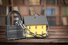 House Security stock photography