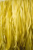 House self-made noodles Stock Photo
