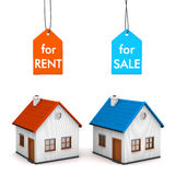 House Sell Rent Royalty Free Stock Images