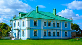 The house servants in the manor Griboyedov. The Estate Griboyedov. Vyazemsky district.historic building, cultural heritage Stock Photography