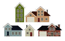 House Set Royalty Free Stock Image