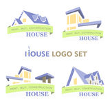 House Set Logo Stock Photo