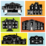 house set vector Royalty Free Stock Photos