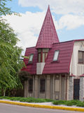 Stylish house Royalty Free Stock Image