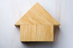 House shape Royalty Free Stock Image