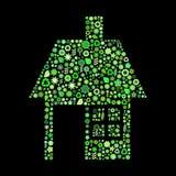 House  shape Stock Images