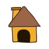 House shape icon Royalty Free Stock Images