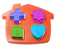 House Shape Sorter Toy Royalty Free Stock Photo