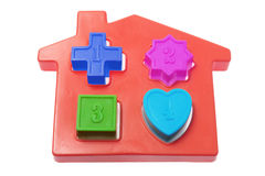 House Shape Sorter Toy Stock Photography