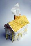 House shape tissue dispenser Stock Photography