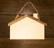 House shaped decoration hanging Royalty Free Stock Image