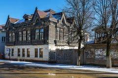 The house of the Shokin merchant. Stock Photo