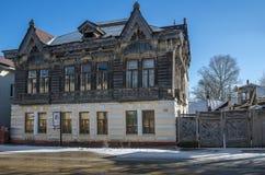 The house of the Shokin merchant. Royalty Free Stock Photo