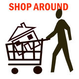 House shopping Stock Photo