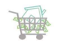 House Shopping royalty free illustration