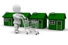 House shopping Royalty Free Stock Image