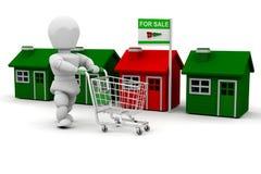 House shopping Stock Image