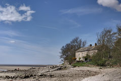 House on the shore Royalty Free Stock Images