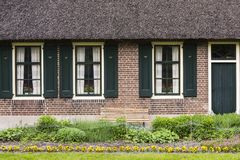 House with Shutters Giethoorn Royalty Free Stock Photos
