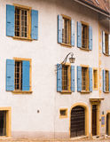 House with Shutters, Switzerland Royalty Free Stock Image