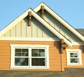 House Siding Exterior Details stock photography