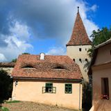 House in Sighisoara Stock Photo