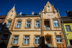 House in Sighisoara Royalty Free Stock Photo