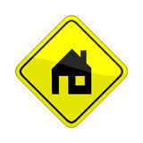 House sign Royalty Free Stock Photos