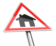 The house sign Stock Photography