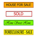 House Signs Stock Images