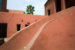 House of slaves in Goree royalty free stock photography