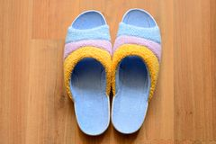 House slippers Royalty Free Stock Photography