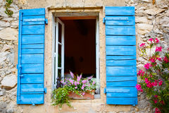 House of small typical town in Provence, France Stock Image