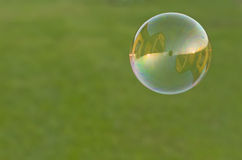 House in soap bubble Stock Image
