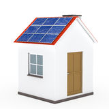 House solar panel Stock Image