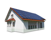 house solar Stock Photo
