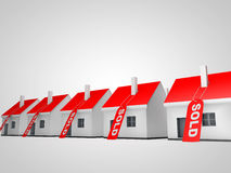 House Sold Stock Photography