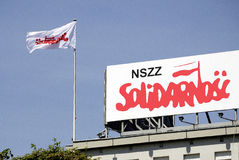 House of Solidarnosc in Gdansk in Poland Royalty Free Stock Photo