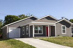 House in the southern USA. Residential house in the southern United States Stock Photo