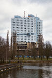The house of Soviets - a famous unfinished building in the city centre of Kaliningrad Royalty Free Stock Photography
