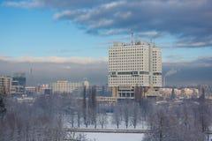 House of Soviets in Kaliningrad Stock Image
