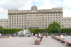 House of Soviets in St.Petersburg. Royalty Free Stock Photography