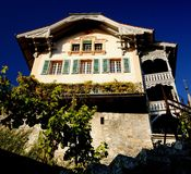 House in Spiez Stock Photo
