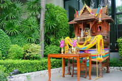House for spirits. In Thailand Stock Images