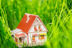 House in spring Royalty Free Stock Photos