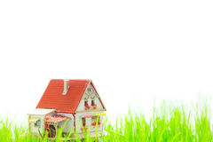 House in spring Stock Image