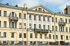 House in St. Petersburg on Fontanka 26 Royalty Free Stock Photo
