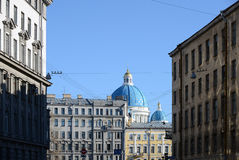 The house in St. Petersburg. Royalty Free Stock Photos