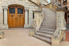 House stairway Royalty Free Stock Images