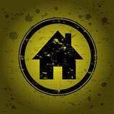 House stamp Stock Photography